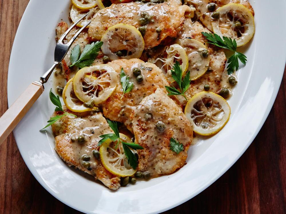 Chicken Piccata Cookstr
