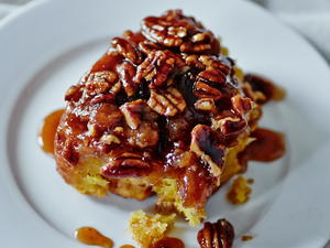 Pecan Sweet Potato Sticky Buns