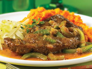 Down-Home Smothered Steak