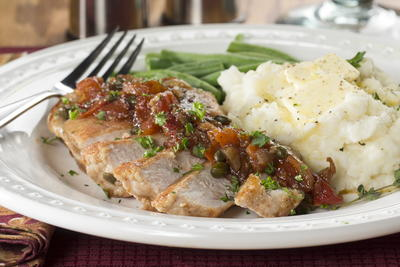 Tuscan Pork Chops