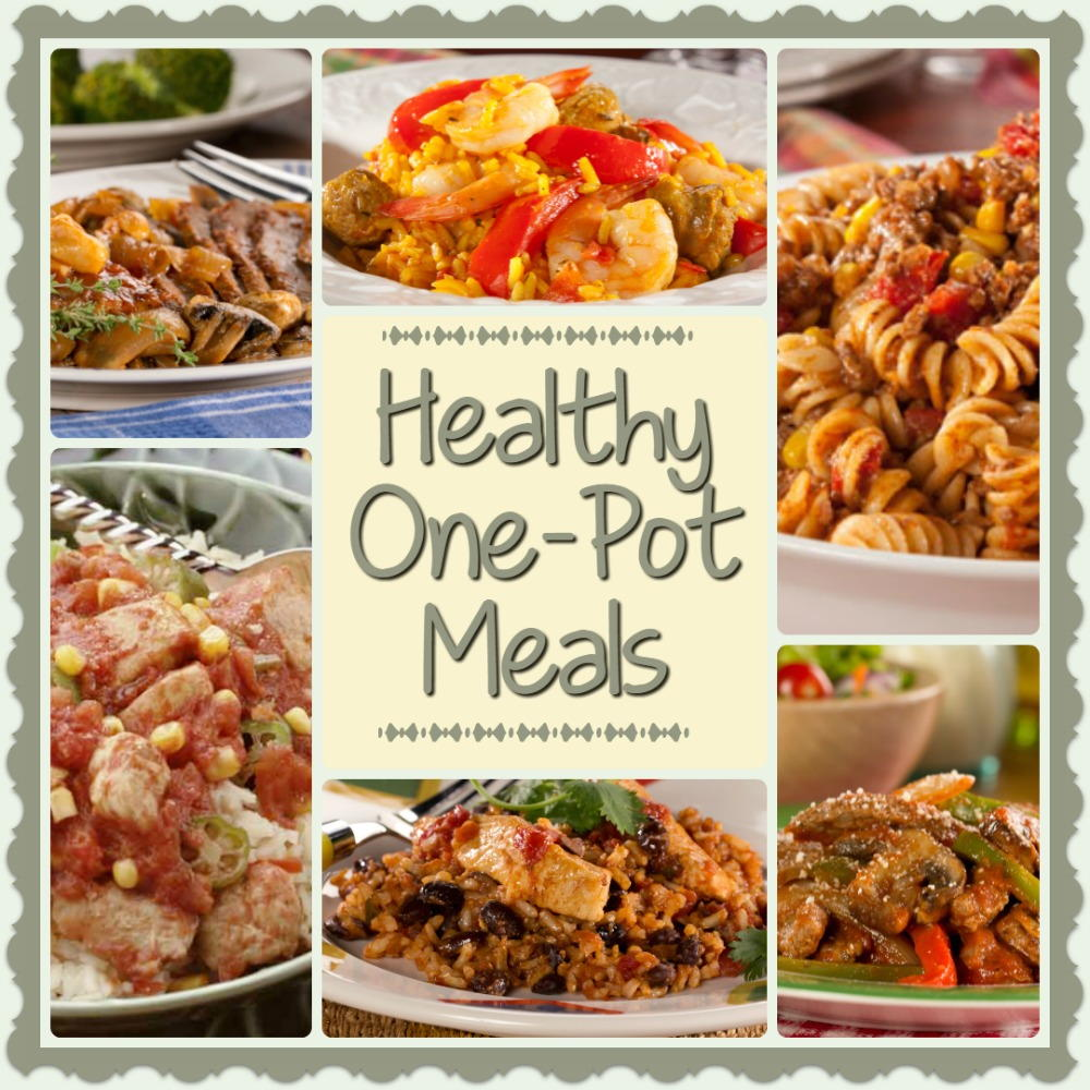 Healthy dinners that fit in one bowl are quick and convenient. These easy recipes are complete meals and layer everything you could want for a healthy dinner: vegetables, whole grains or a starch, and a tasty portion of protein.