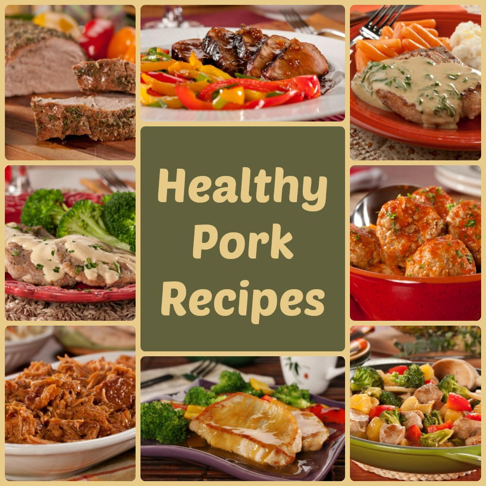 Pork Loin, Pork Chops, And Pulled Pork: 8 Healthy Pork