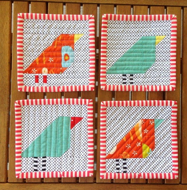 Little Bird Quilt Pattern Favequilts Com