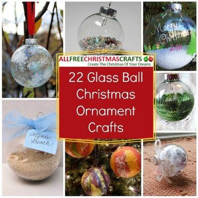 93 unique christmas ornaments to make now for Glass christmas balls crafts