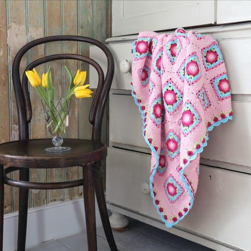 Pink Lemonade Baby Blanket