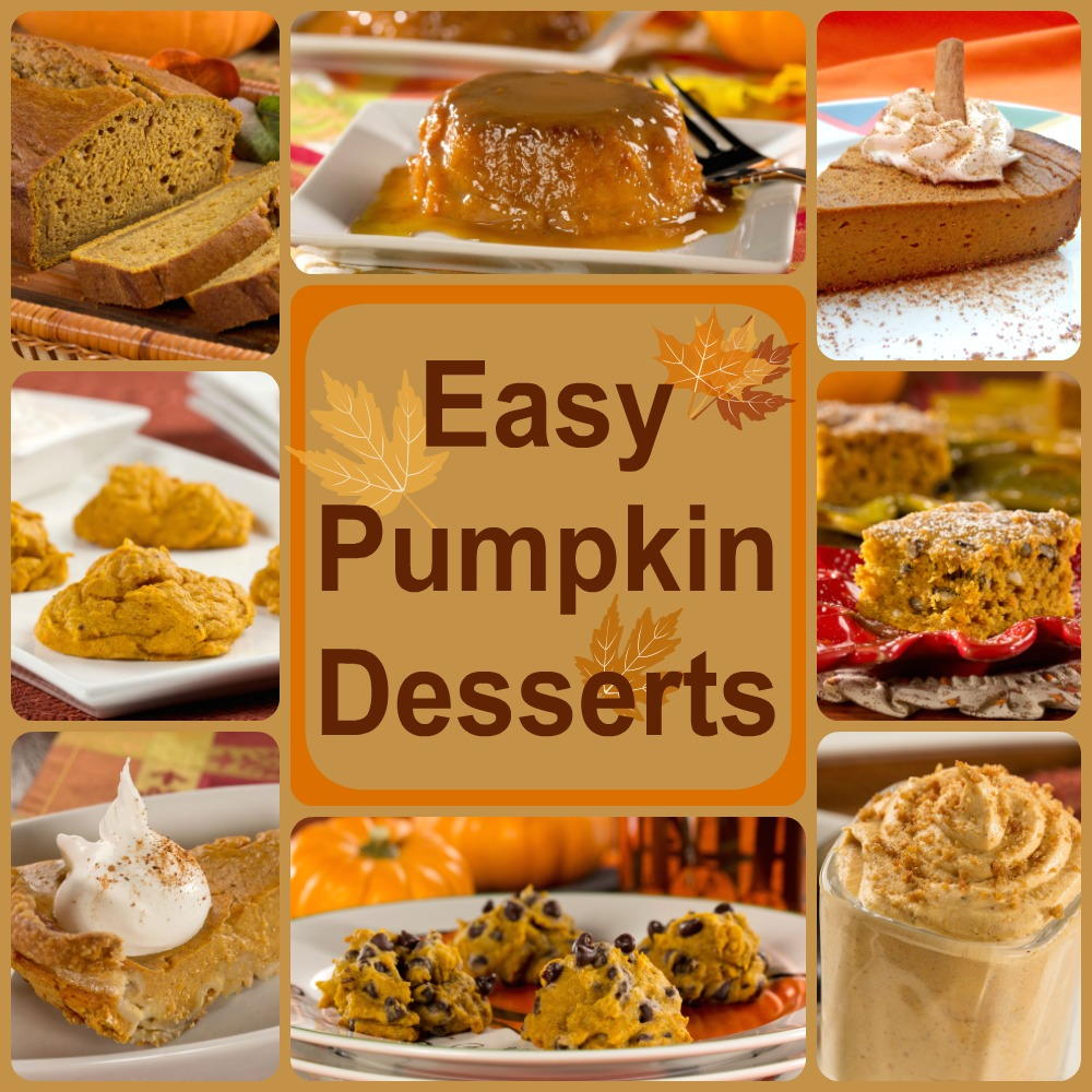 Healthy Pumpkin Recipes: 8 Easy Pumpkin Desserts