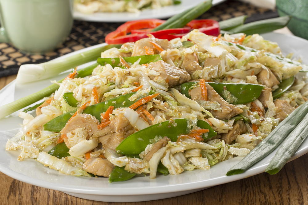 Chinese Cabbage N Chicken Salad Mrfood Com