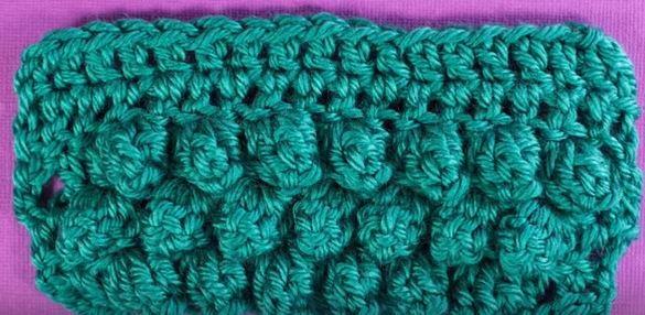 Crochet Scarf Patterns With Popcorn Stitch : 11 Crochet Stitch Videos FaveCrafts.com