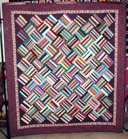 Basket Weave Quilt Pattern Favequilts Com