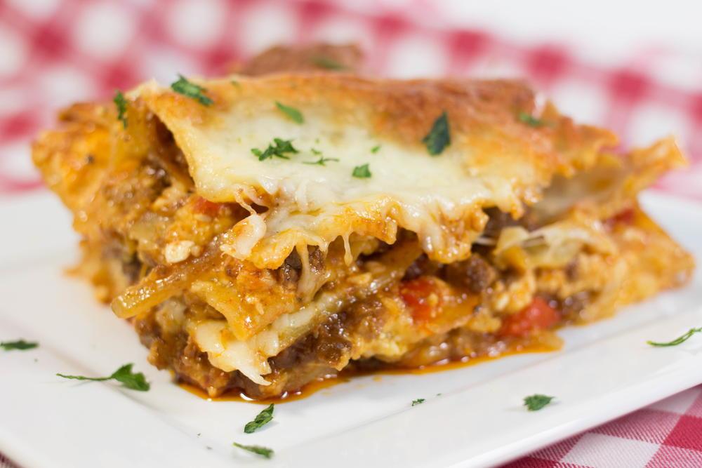 Barbeque Beef Lasagna | AllFreeCasseroleRecipes.com