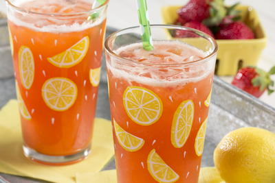 Strawberry Lemon Chiller