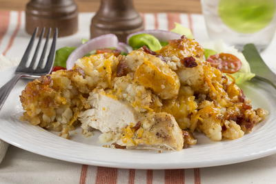 Chicken Ranch Casserole