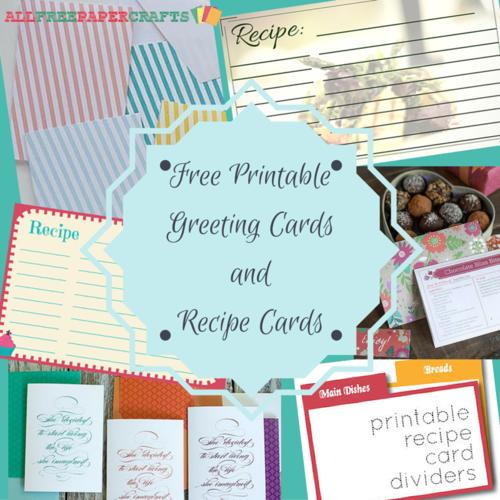 DIY Envelope Liners & Printable Note Cards