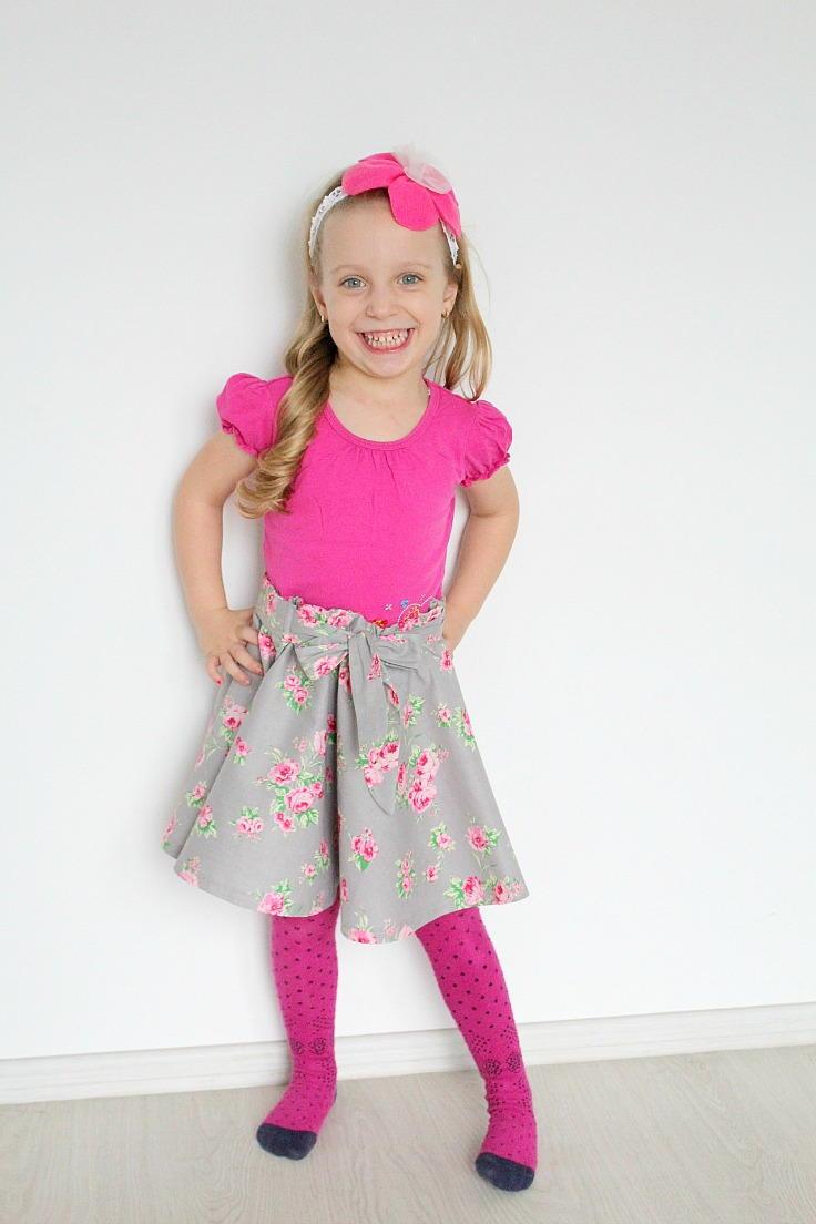Circle Skirt Sewing Tutorial No Zipper Allfreesewing Com