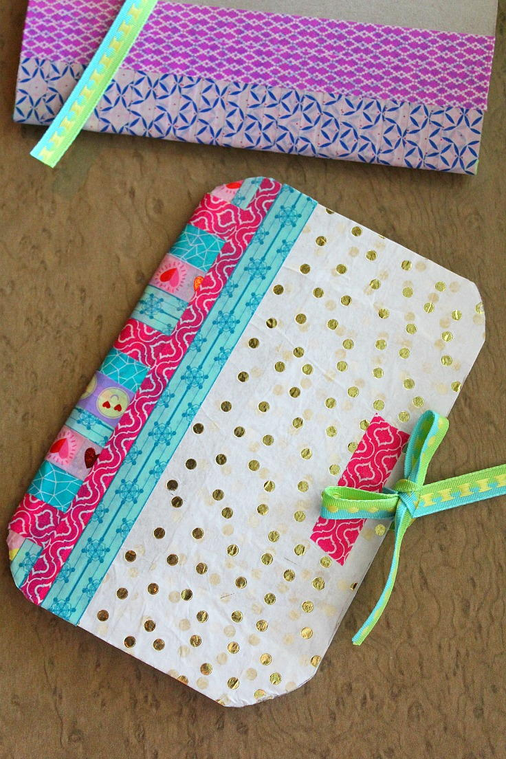 Allfreepapercrafts Com: Recycled Cereal Box Notebooks