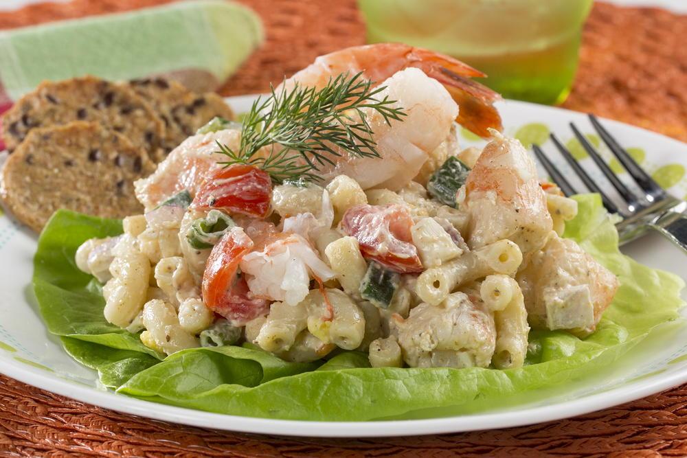 Shrimp Macaroni Salad Mrfood Com
