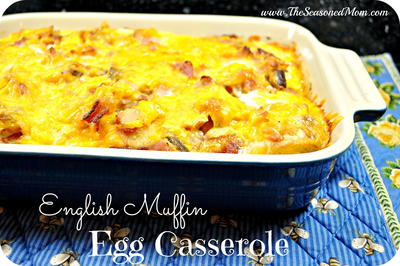 English Muffin Egg Casserole