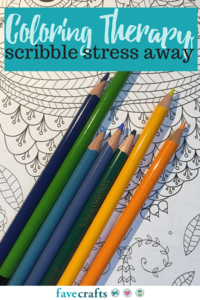 Coloring Therapy: Scribble Stress Away
