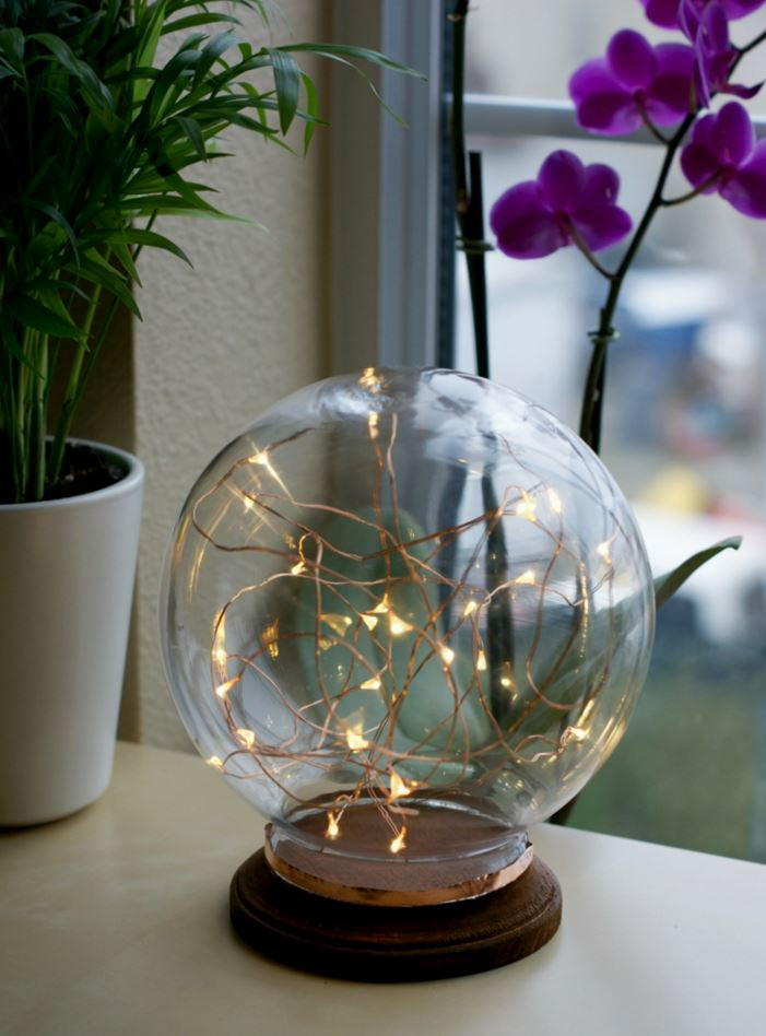 Globe Lamp Diy Home Decor Favecrafts Com