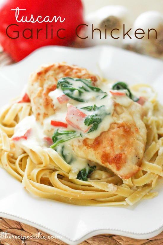 Olive Garden Tuscan Garlic Chicken Copycat