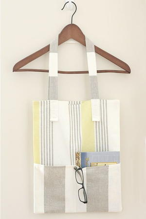 Tea Towel DIY Tote Bag