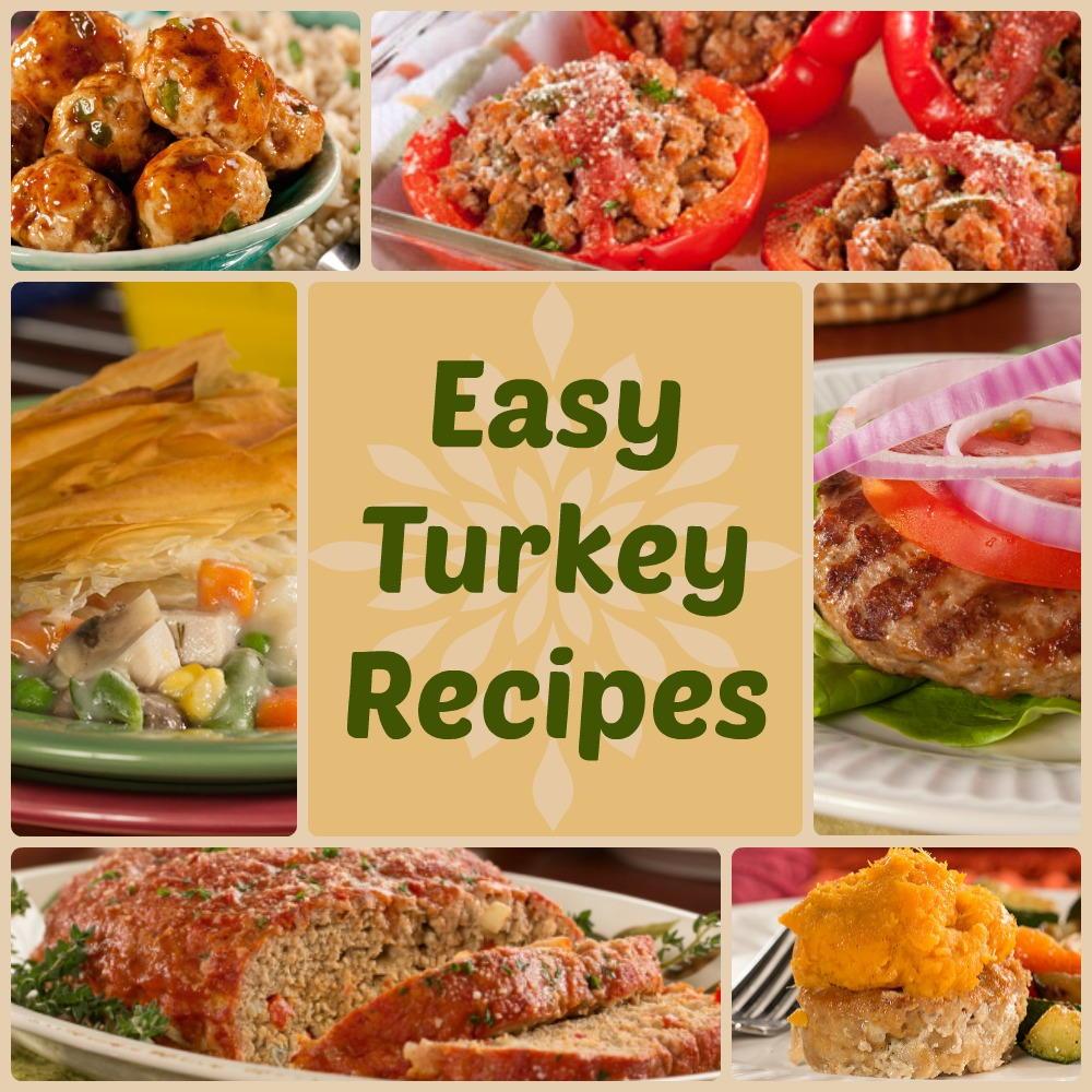 Quick & Healthy Dinner Recipes: 18 Easy Turkey Recipes
