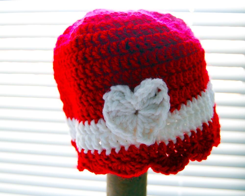 Little Hat For A Big Heart Allfreecrochet Com