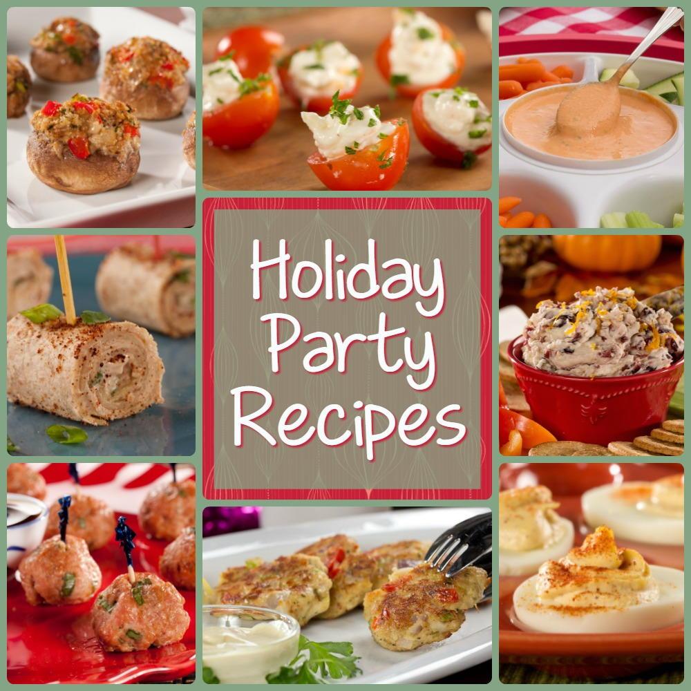 Jolly Christmas Party Recipes: 12 Holiday Party Recipes