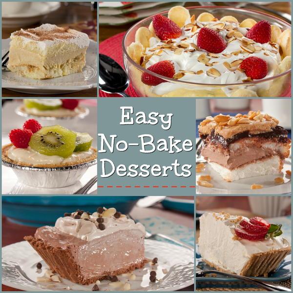 Recipe for easy no bake desserts