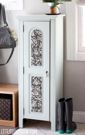Elegant Refurbished Entryway Cabinet