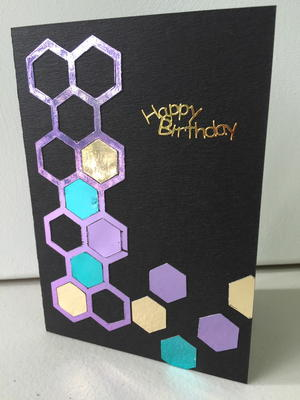 Mix n Match Foil Greeting Card