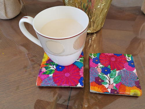 Coloring Book Coasters