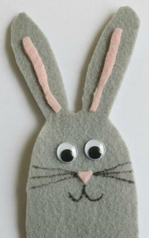 Bitty Bunny Finger Puppet