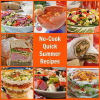 30 No-Cook Quick Summer Recipes