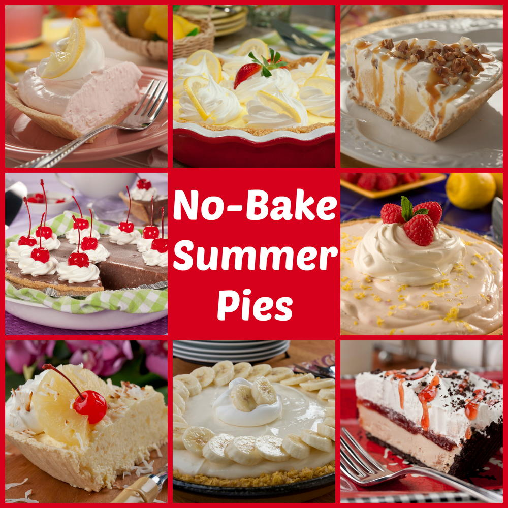 Top 10 No-Bake Summer Pies | MrFood.com