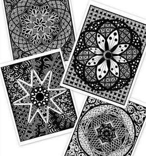 Gorgeous Mandala Coloring Pages