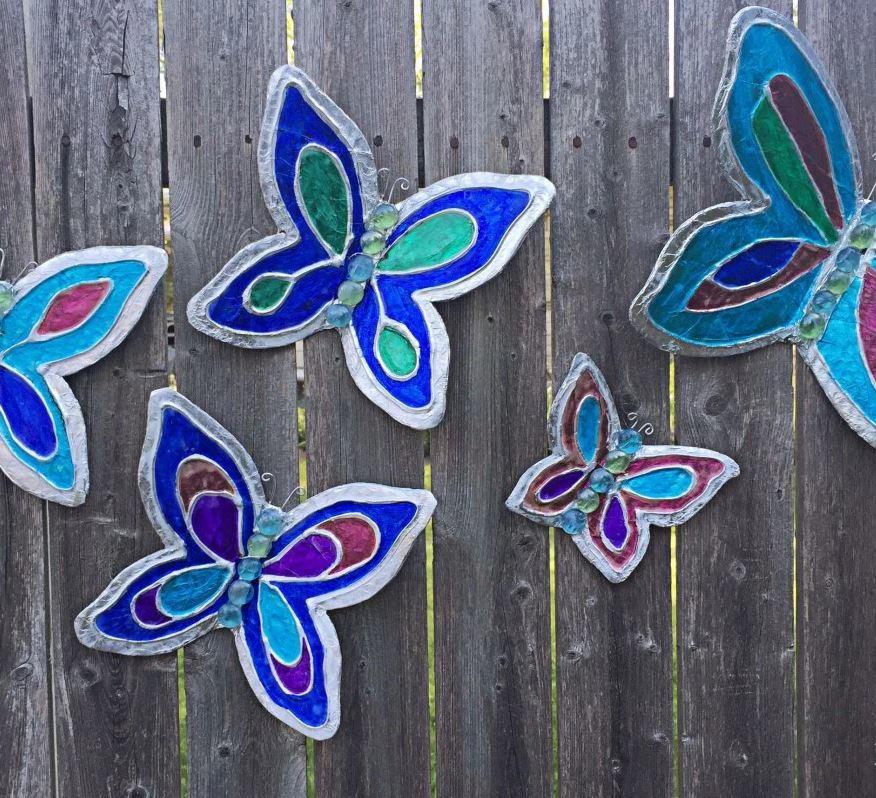 Butterfly Home Decor: AllFreePaperCrafts.com