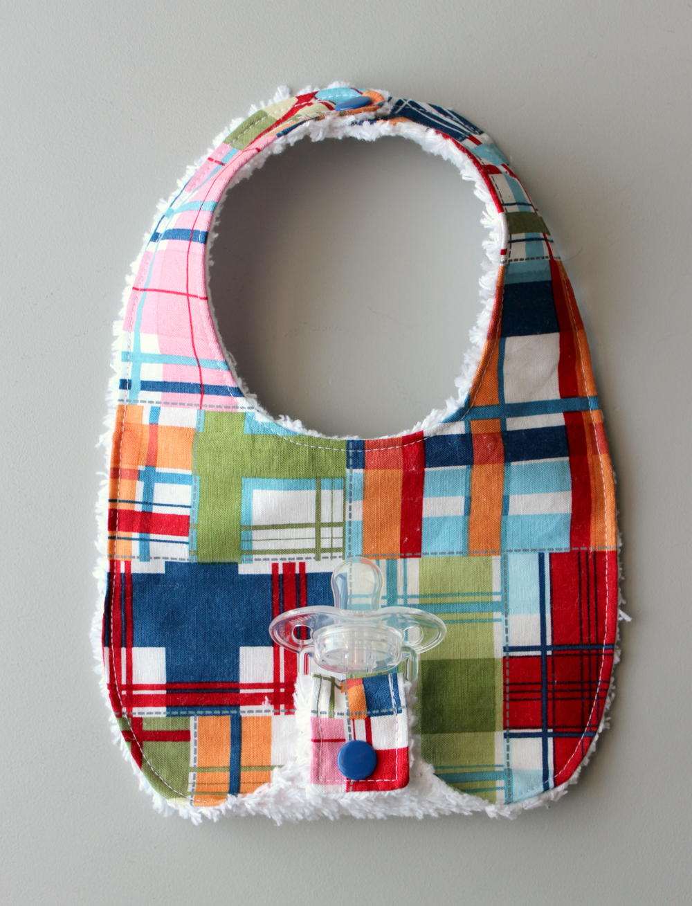 Binky Bib Pattern Allfreesewing