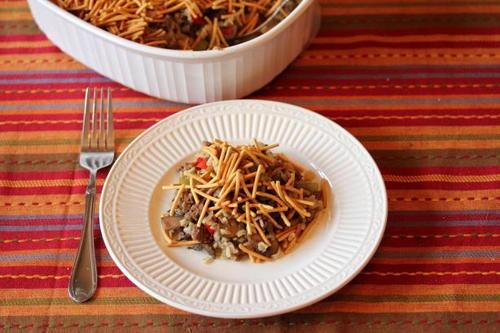 Wild Rice Hot Dish Allfreecasserolerecipes Com