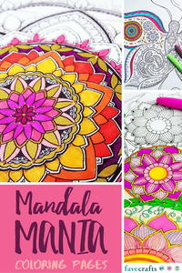 Mandala Mania: 13 Mandala Coloring Pages