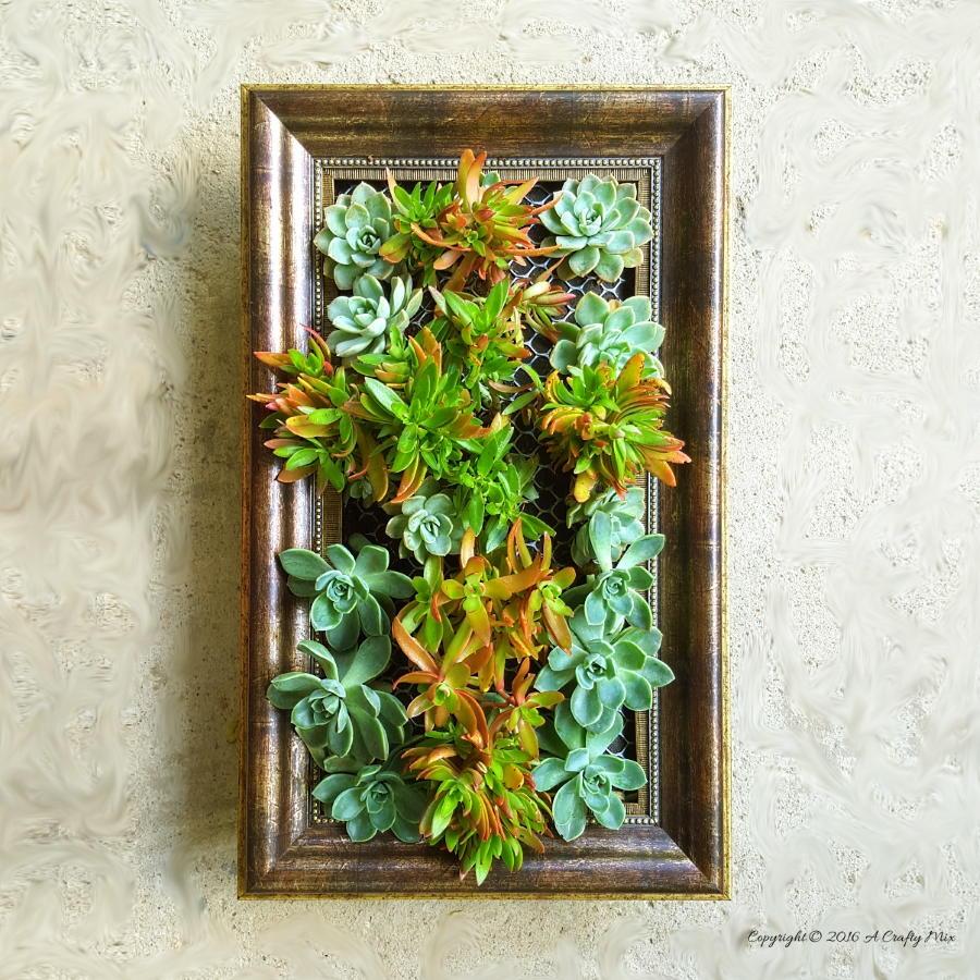 Frame A Vertical Garden Diyideacenter Com