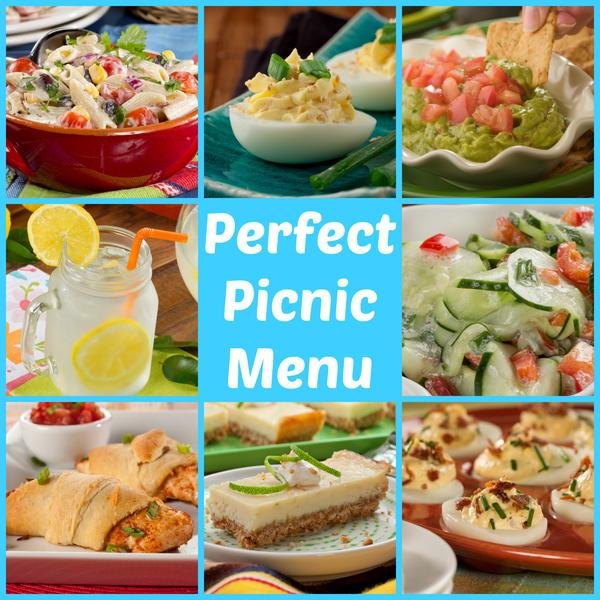 Perfect Picnic Menu: 53 Make Ahead Picnic Recipes