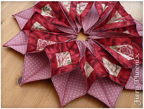 Origami Candle Mat Allfreesewing Com