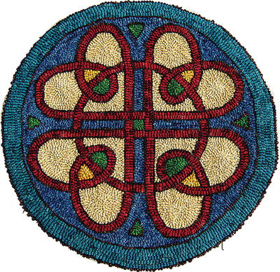 Abstract Rug Hooking Patterns