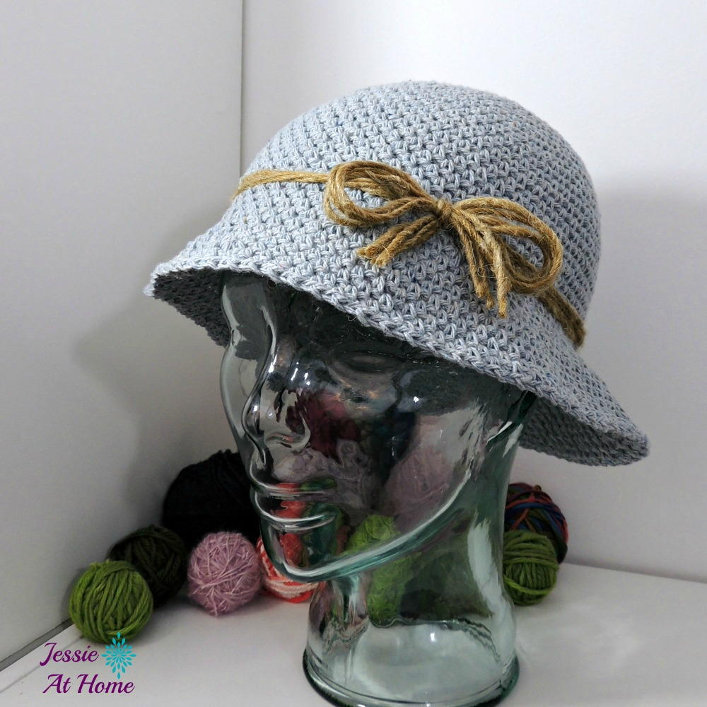 Denim Bucket Hat Allfreecrochet Com