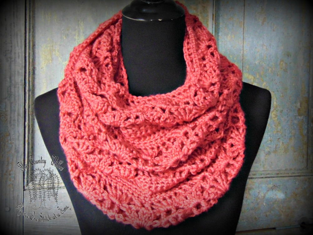 infinity scarf allfreecrochet