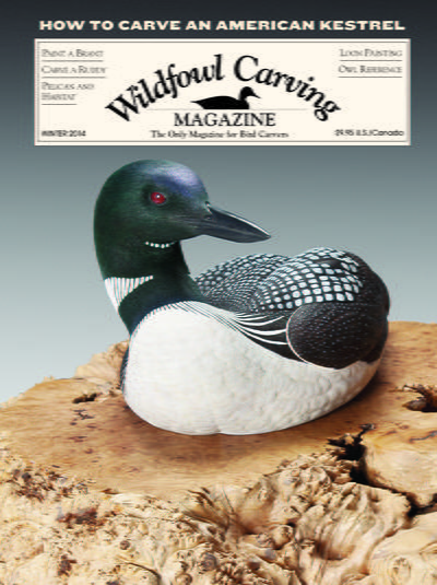 WILDFOWL CARVING AND COLLECTING WINTER 2015