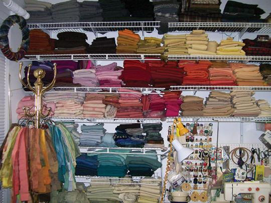 Reorganizing Room: Ask The Experts: Reorganizing A Wool Room