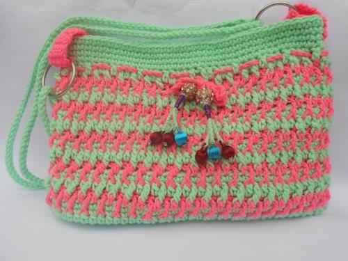 Ladies Crochet DIY Purse FaveCrafts.com