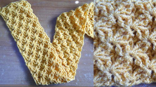 Shining Star Crochet Stitch